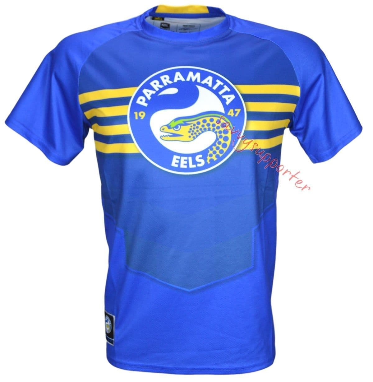 Parramatta Eels NRL Classic Sublimated Training Shirt Size