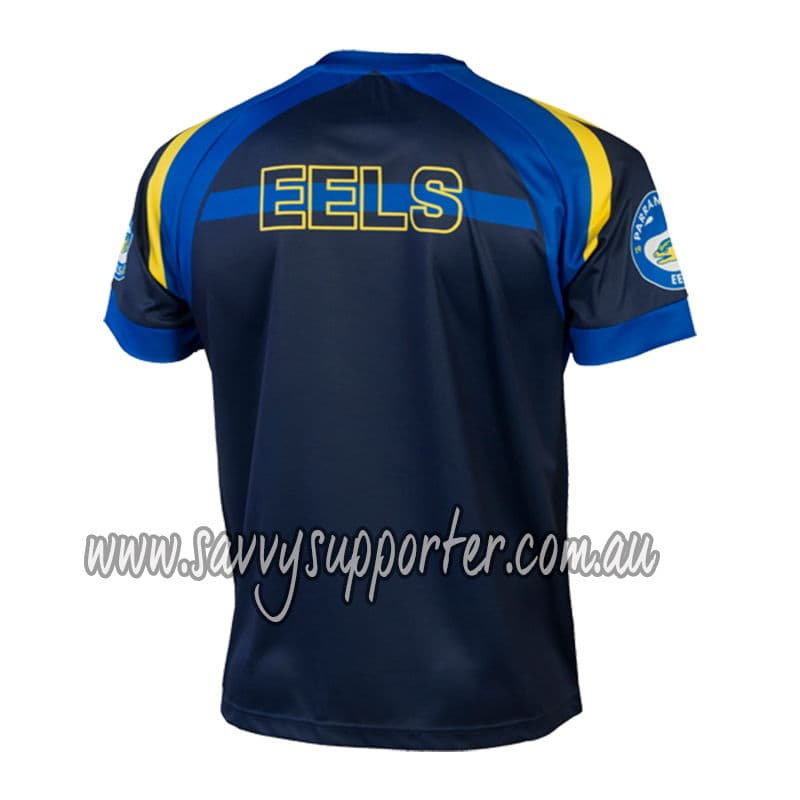 Parramatta Eels 2017 NRL Classic Training Tee Shirt Sizes