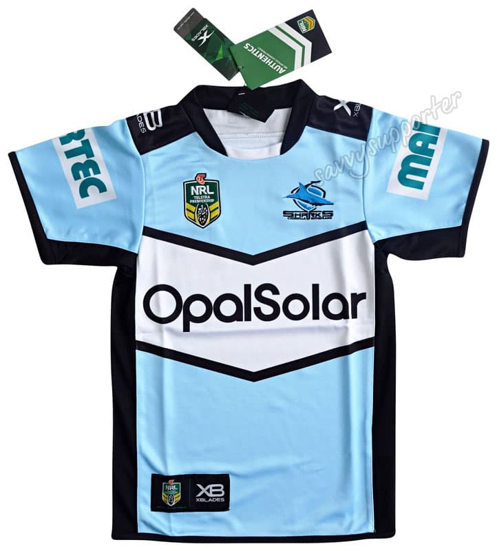 Cronulla-Sharks-2018-NRL-Home-Jersey-Mens-Ladies-Kids-Toddler-Sizes