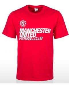 Manchester United FC Mens Supporter Tee Shirt