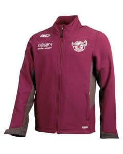 Manly Sea Eagles Mens Soft Shell Jacket