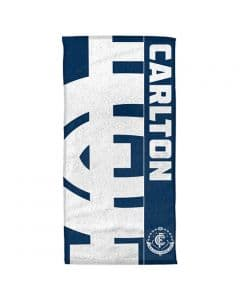 Carlton Blues 2020 Beach Towel