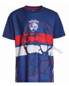 Western Bulldogs 2017 AFL Sublimated Training Shirt