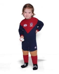 Melbourne Demons AFL Infant Footysuit