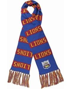 Brisbane Lions Heritage Club Supporter Scarf