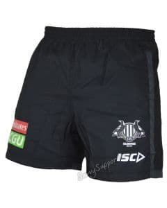 Collingwood Magpies 2017 AFL Training Shorts Adults and Kids