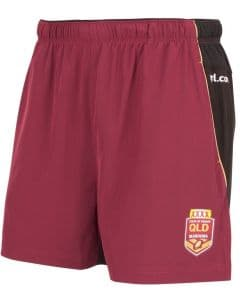 QLD Maroons State of Origin 2017 NRL Gym Training Shorts