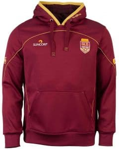 Queensland Maroons State Of Origin 2016 Players Performance Hoodie S-3XL QLD NRL
