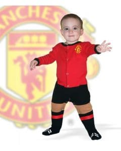 Manchester United Infant Footysuit