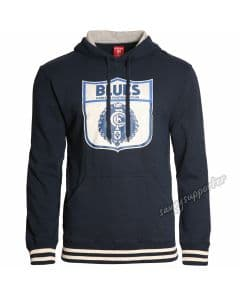 Carlton Blues Mens Retro Pullover Hood