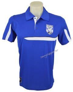 Canterbury Bulldogs Mens Polyester Polo Shirt