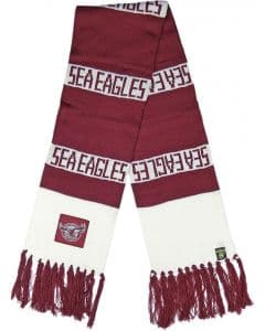 Manly Warringah Sea Eagles Traditional Bar Scarf
