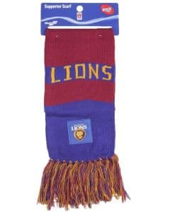 Brisbane Lions Traditional Bar Scarf