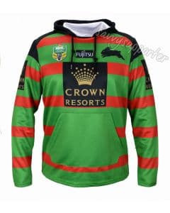 South Sydney Rabbitohs NRL Mens Jersey Hoodie
