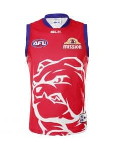Western Bulldogs AFL Red Training Guernsey