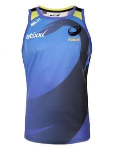 Western Force Mens Training Singlet