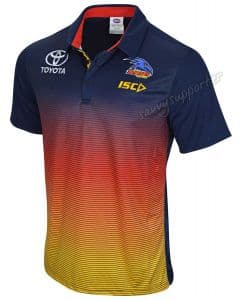 Adelaide Crows 2019 AFL Sublimated Polo Shirt