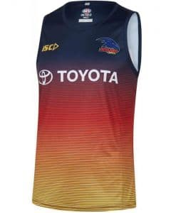 Adelaide Crows 2019 AFL Mens Navy Training Singlet