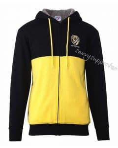 Richmond Tigers 2019 AFL Mens Fur Zip Hood