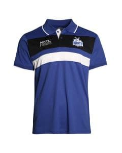 North Melbourne Kangaroos 2018 AFL Winter Premium Polo Shirt