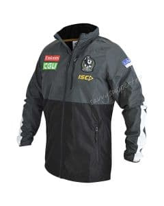 Collingwood Magpies 2019 NRL Mens Mens AFL Wet Weather Jacket
