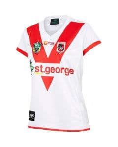 St George Dragons Ladies NRL Home Jersey