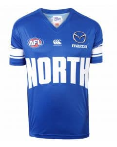 North Melbourne Kangaroos 2018 AFL Warm Up Tee
