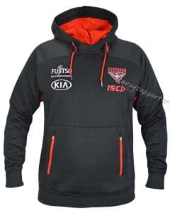 Essendon Bombers 2018 AFL Mens Pullover Squad Hoody