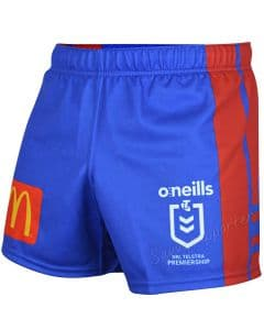 Newcastle Knights 2020 NRL Mens Players Home Shorts