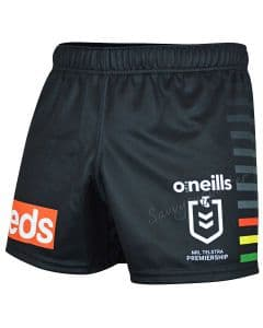 Penrith Panthers 2020 NRL Mens Players Home Shorts