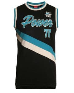 Port Adelaide Power 2018 AFL Throwback Singlet