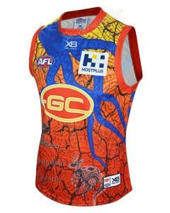 Gold Coast Suns 2019 AFL Mens Indigenous Guernsey