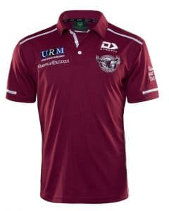Manly Sea Eagles 2020 NRL Mens Media Polo Shirt