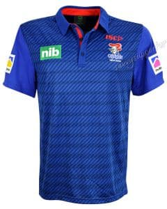 Newcastle Knights 2018 NRL ISC Media Polo Shirt