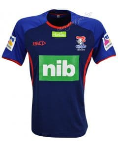 Newcastle Knights 2018 NRL Ink Marle Training Shirt