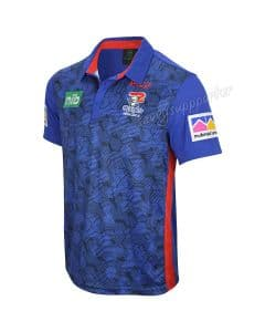 Newcastle Knights 2019 NRL ISC Royal Performance Polo Shirt