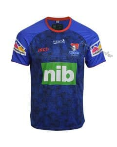 Newcastle Knights 2019 Royal Training Shirt