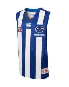 North Melbourne Kangaroos 2018 AFL On Field Pro Home Guernsey