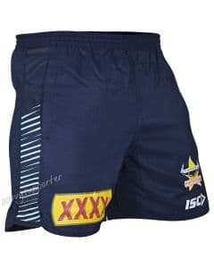North Queensland Cowboys 2019 ISC Glacier Mens Training Shorts