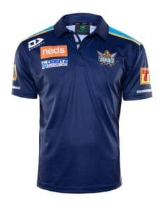 Gold Coast Titans 2020 NRL Mens Media Polo Shirt