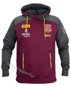 Queensland Maroons State of Origin 2018 Mens Pullover Squad Hoody