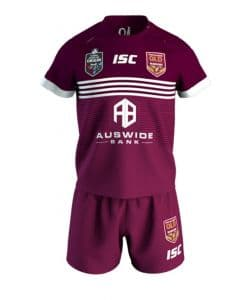 QLD Maroons 2019 Toddler State of Origin On Field Jersey
