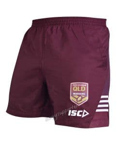 QLD Maroons 2019 Mens State of Origin Training Shorts
