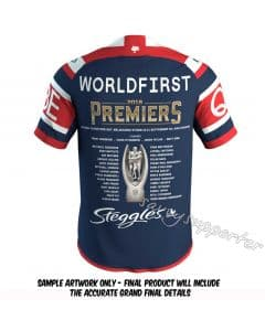 Sydney Roosters 2018 Mens Premiers Jersey