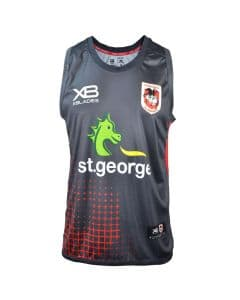 St George Dragons NRL Nine Iron Training Singlet
