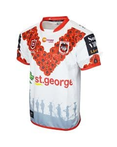 St George Dragons 2019 NRL Mens Anzac Jersey