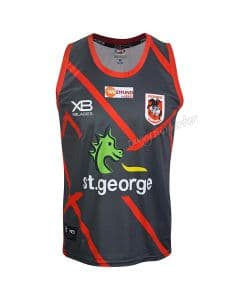 f5dbe91f5b9 St George Dragons 2019 Mens Pre Season Training Singlet
