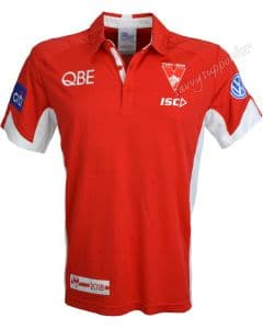 Sydney Swans 2018 NRL ISC Players Polo Shirt