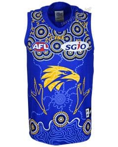 West Coast Eagles 2018 AFL Mens Indigenous Guernsey