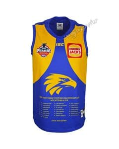 West Coast Eagles 2018 AFL Mens Premiers Guernsey